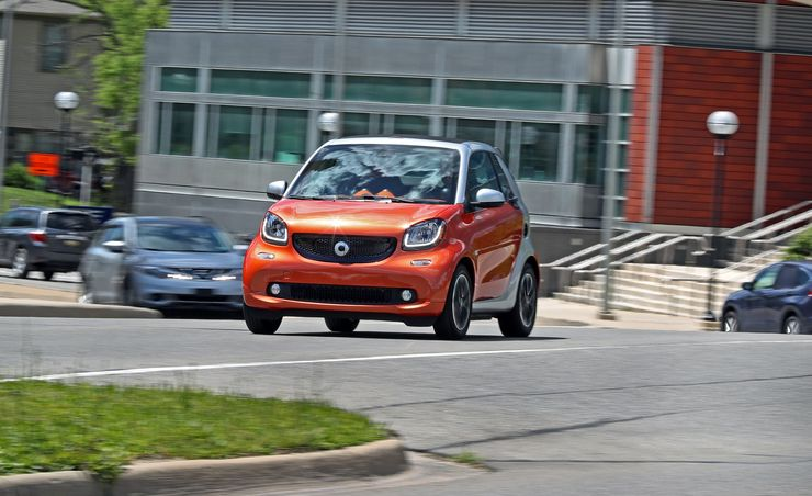 Smart Car Test Drive Top Gear