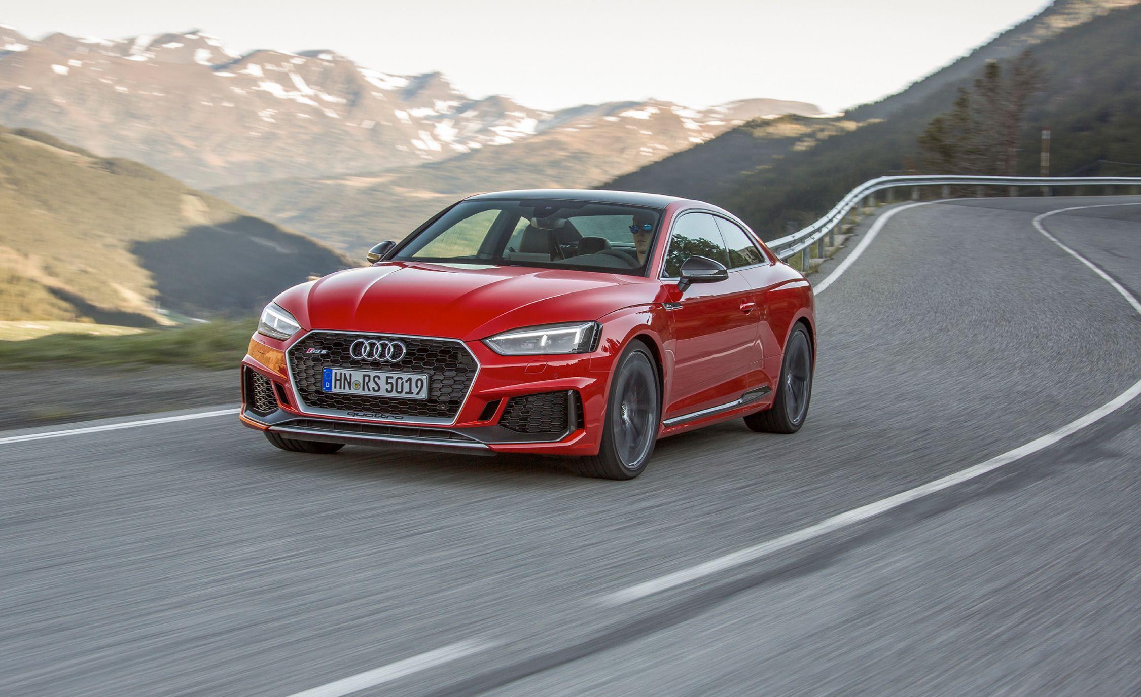 Audi rs5 quarter mile