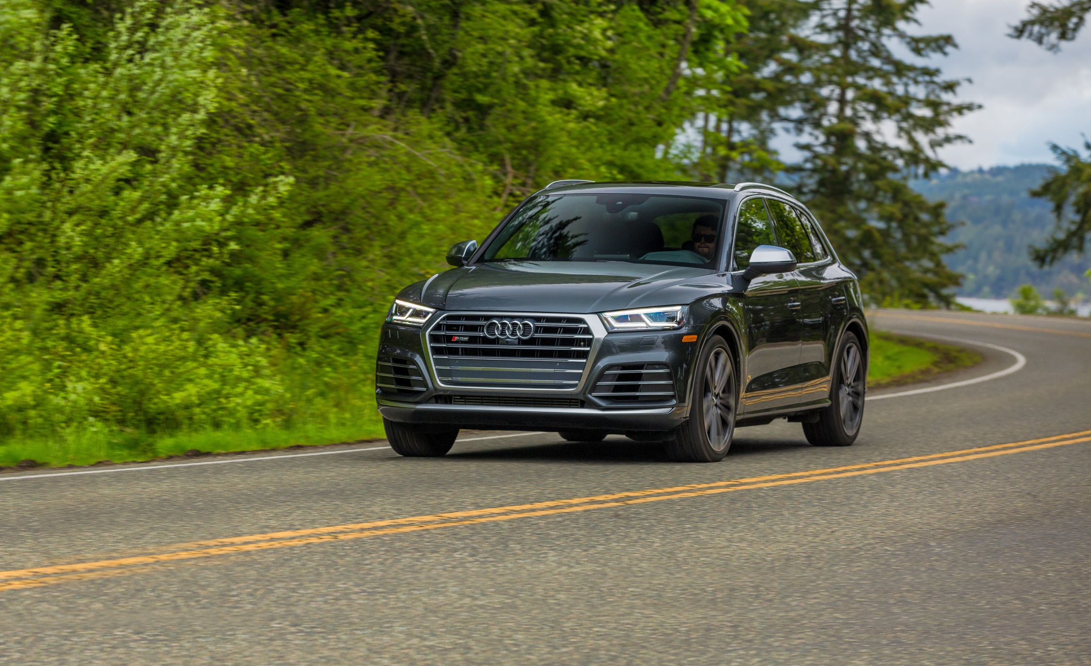 2018 Audi Sq5 First Drive Review Car And Driver