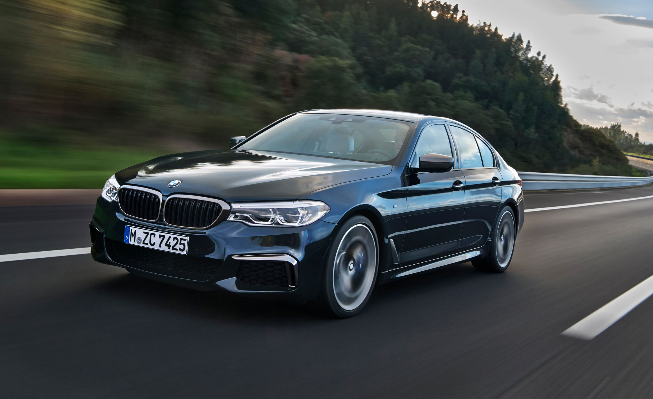 2018 bmw m550i xdrive first drive review car and driver rh caranddriver com BMW 8 Series BMW 4 Series