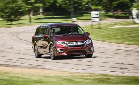 2018 Honda Odyssey 10-Speed Automatic