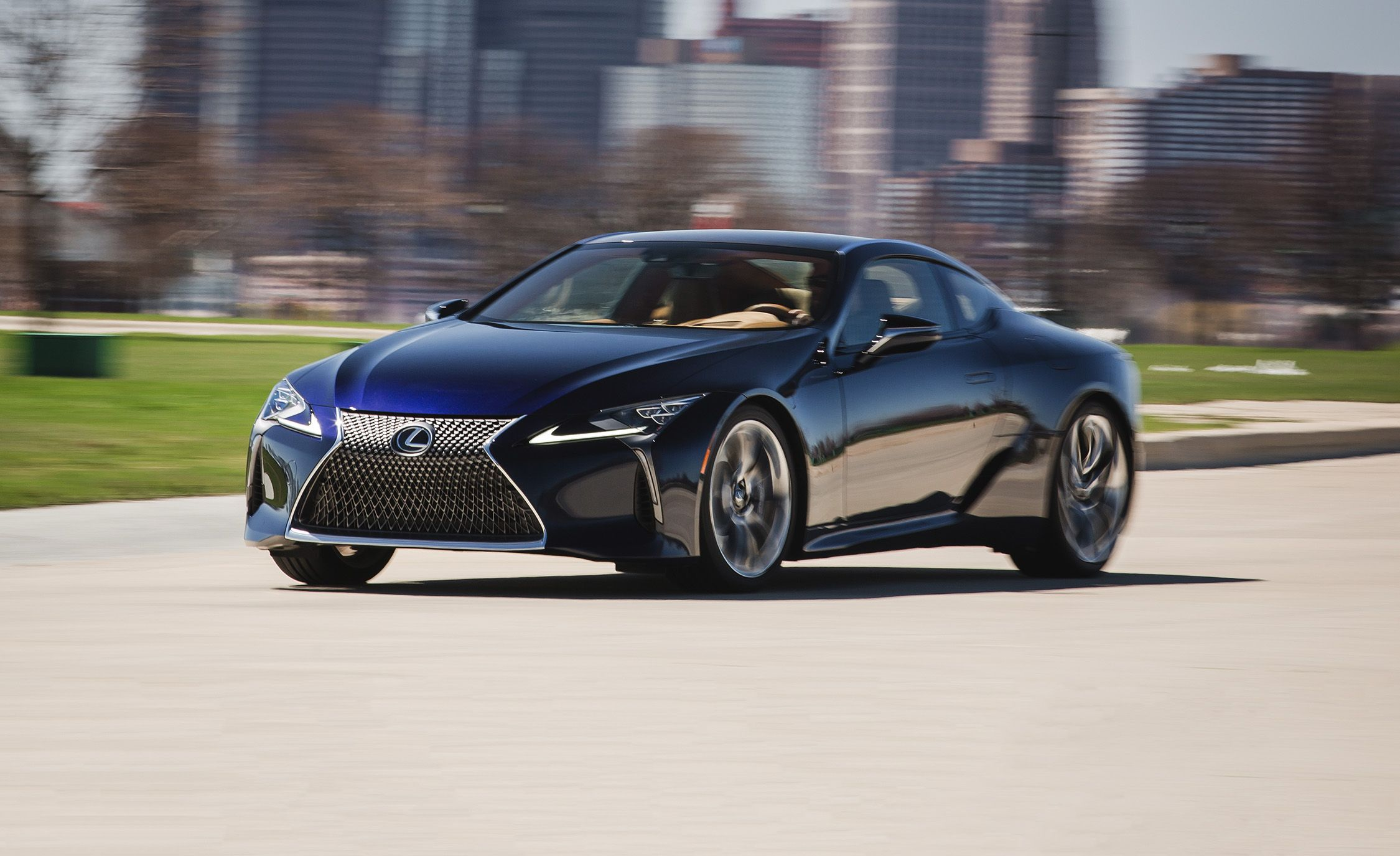 2018 Lexus Lc Performance And Driving Impressions Review Car Driver