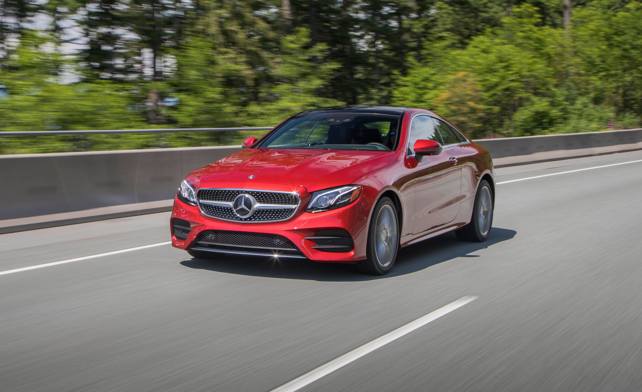 E400 Coupe 2018 >> 2018 Mercedes Benz E400 Coupe First Drive Review Car And Driver
