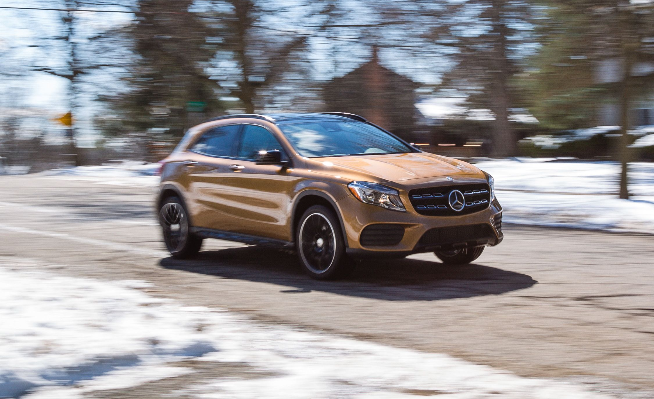 2018 Mercedes Benz Gla250 4matic Test Review Car And