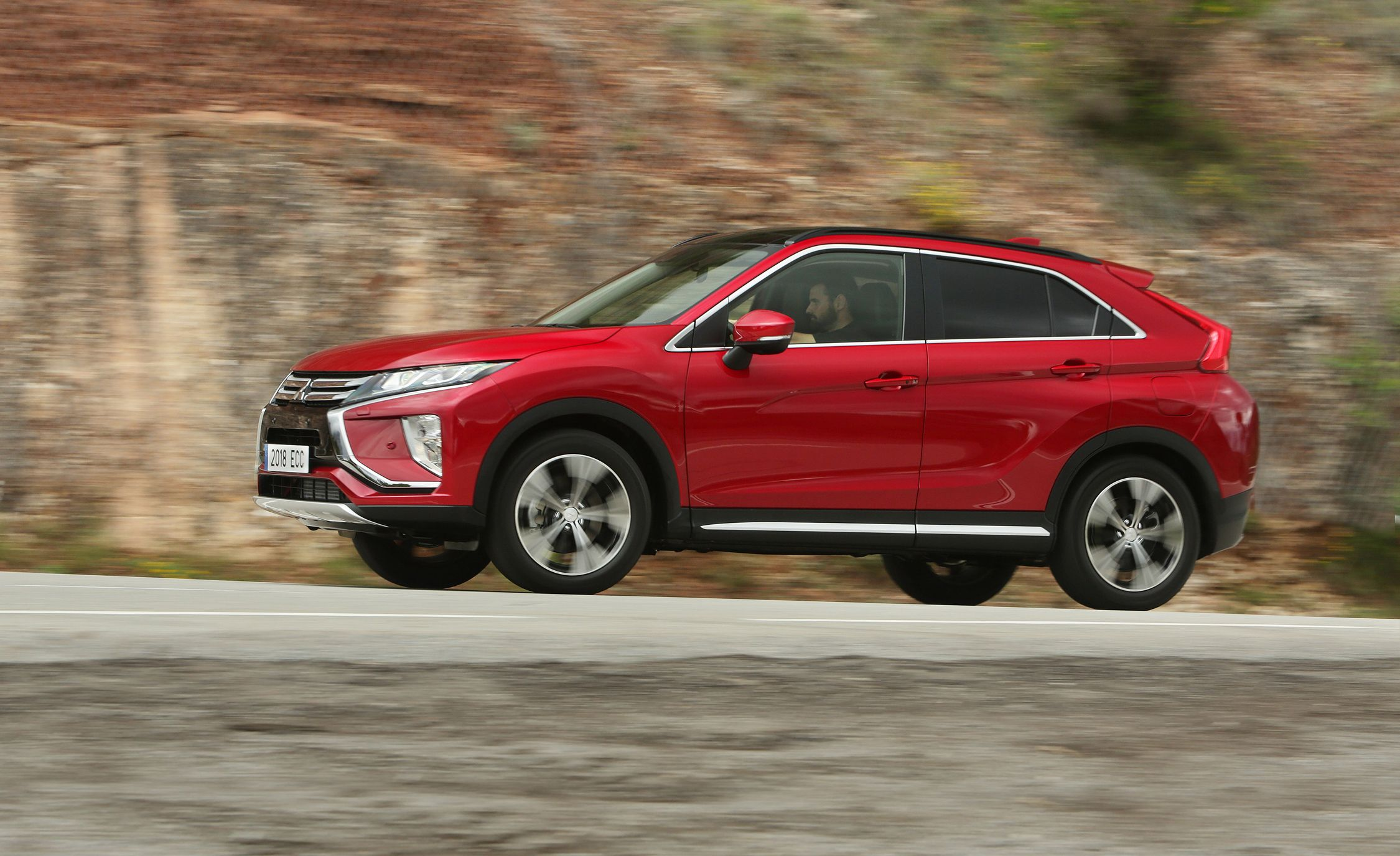 2018 Mitsubishi Eclipse Cross First Drive Review Car And Driver