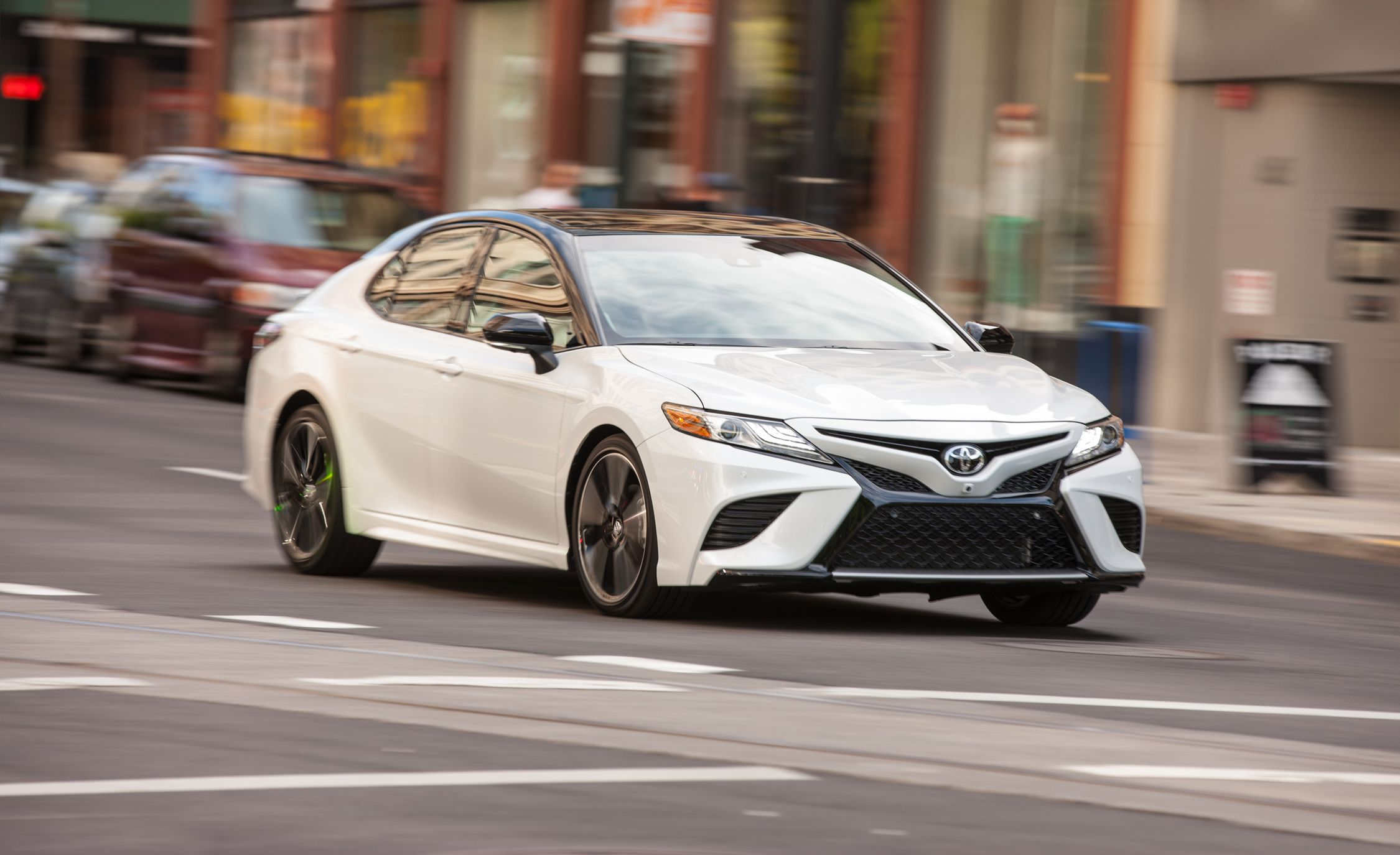2018 toyota camry first drive review car and driver rh caranddriver com