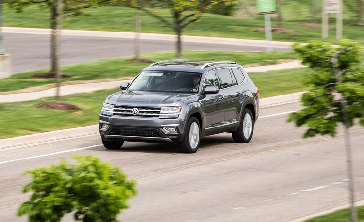 2018 Volkswagen Atlas V-6 4MOTION