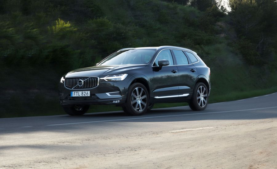 2018 Volvo Xc60 First Drive Review Car And Driver