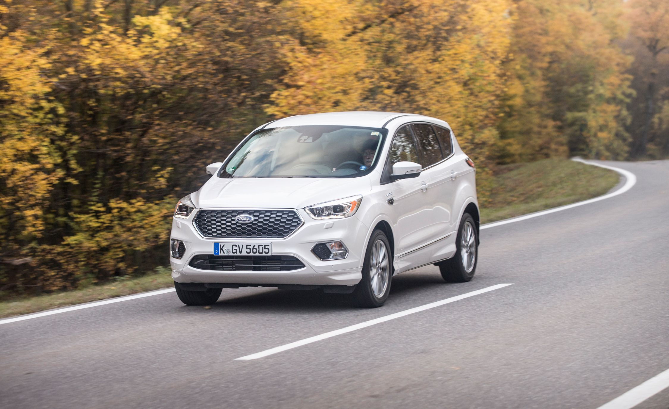 The Fanciest Ford Escape Ever: We Drive the European Kuga Vignale