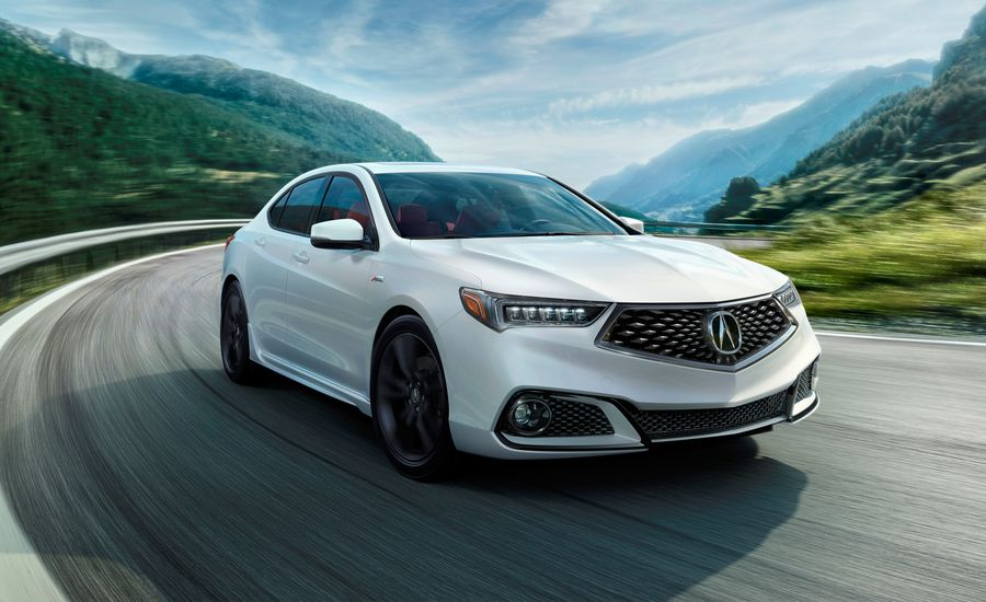 Acura TLX Photos And Info News Car And Driver - 2018 acura tl 19 inch wheels