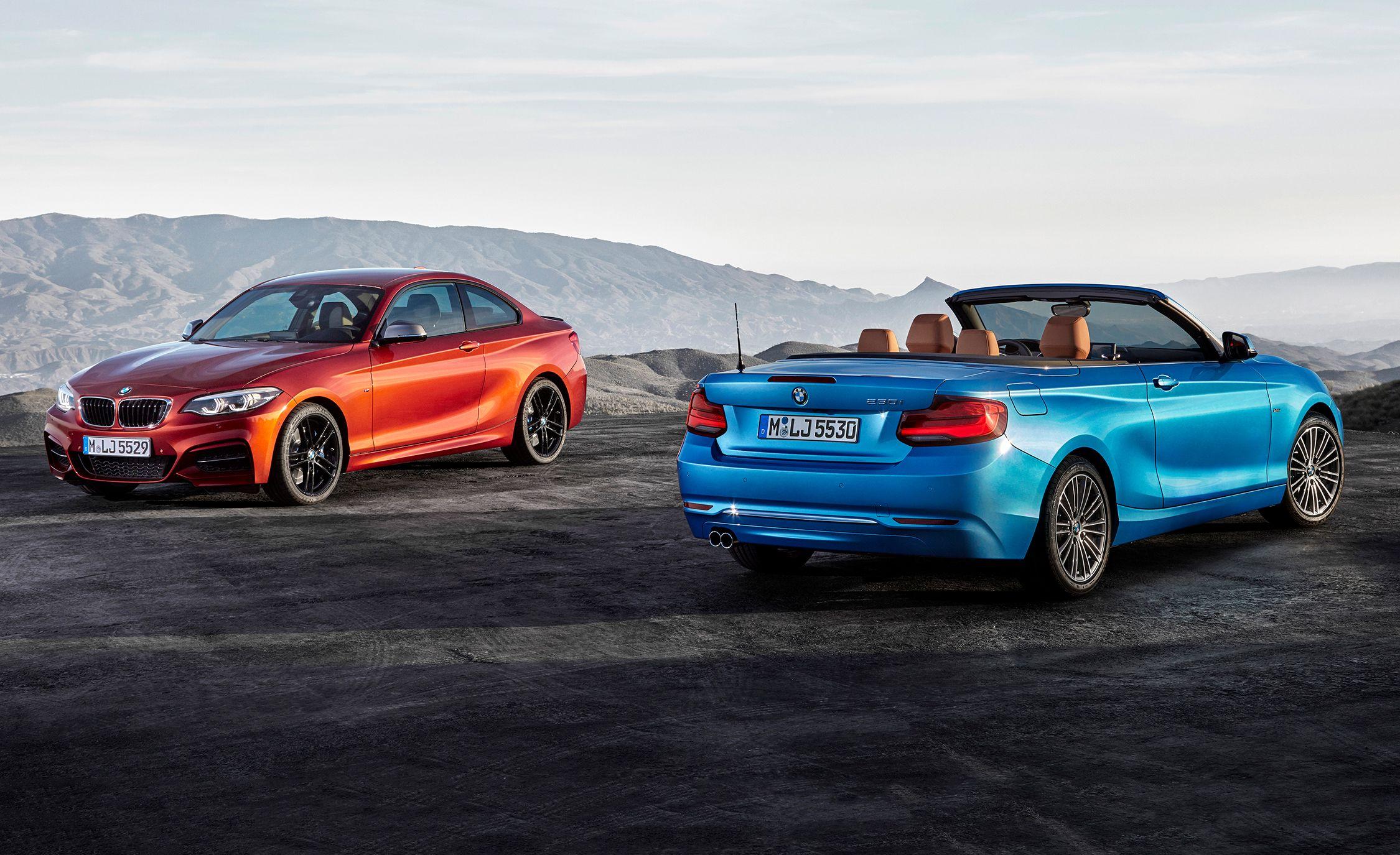 2018 BMW 2-series: Aesthetic Refresh, Manual Saved