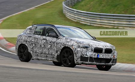 2018 BMW X2 Spied: A Small and Sporty Spinoff