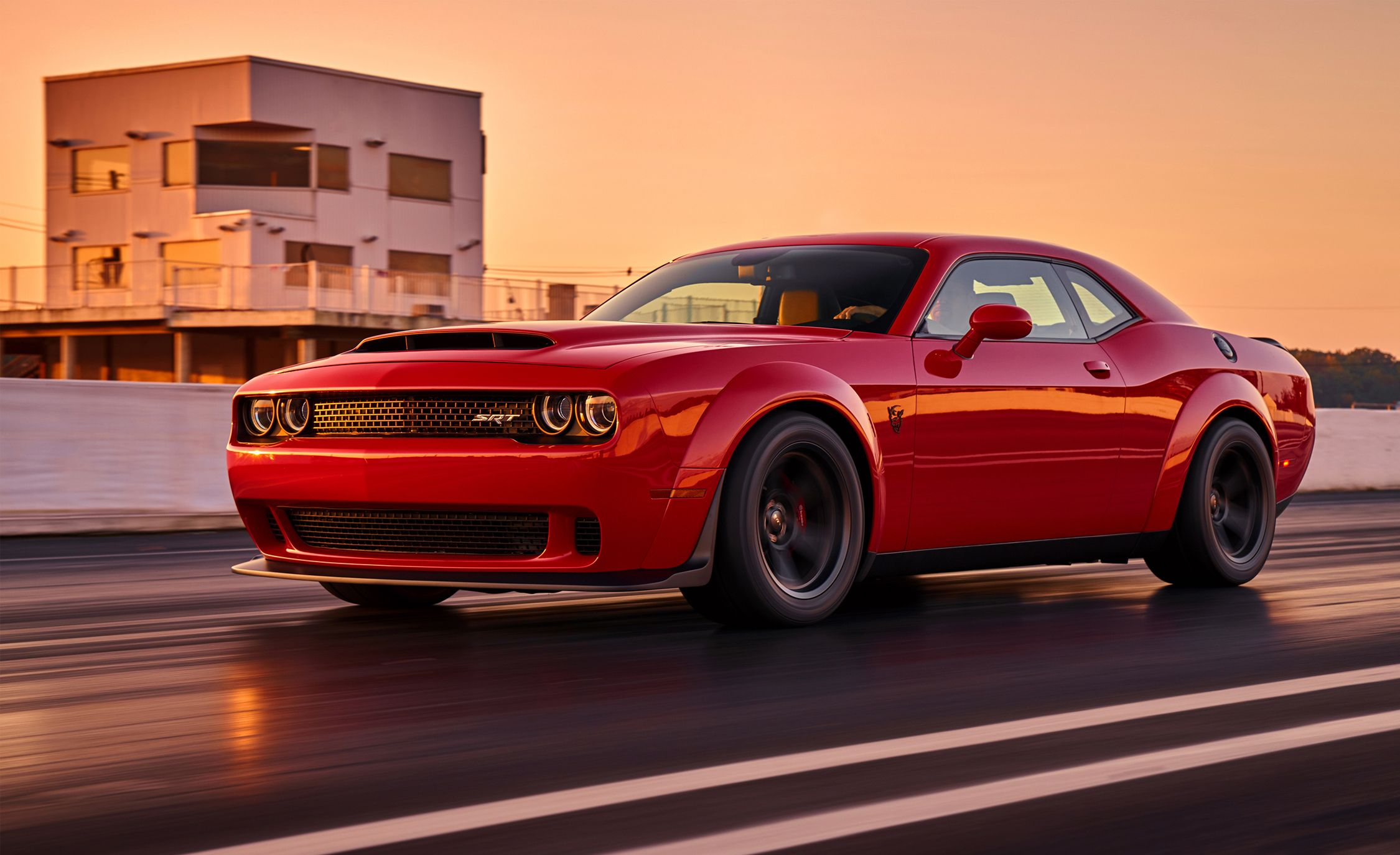 2018 Dodge Challenger Srt Demon Photos And Info News Car And Driver