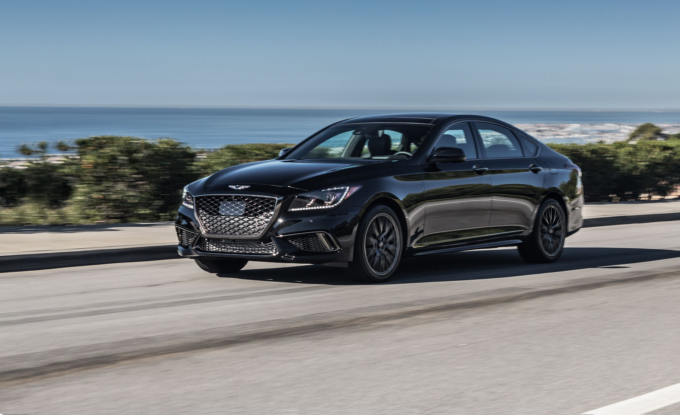 2018 Genesis G80 Sport First Drive Review Car And Driver