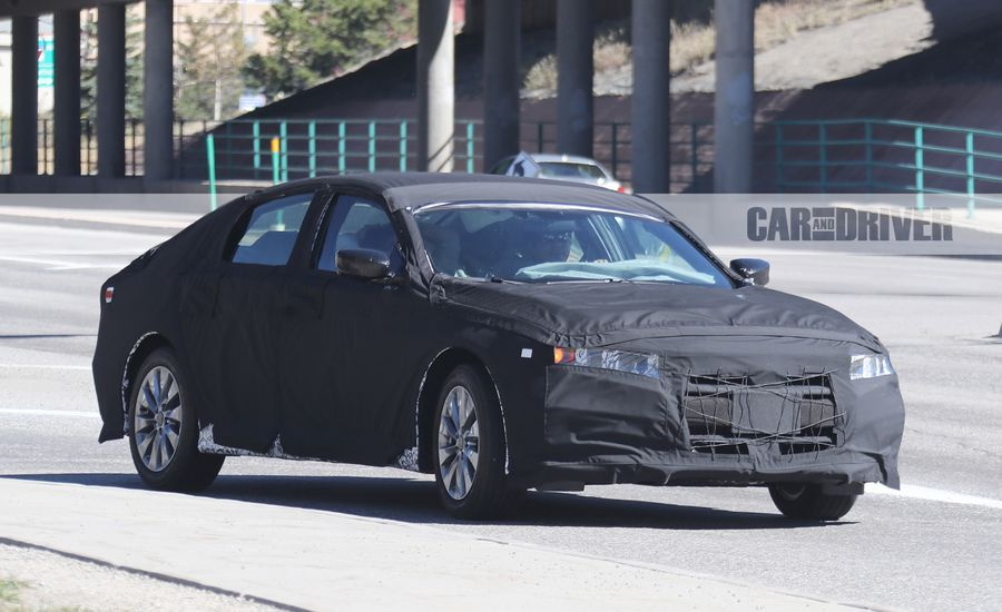 2018 Honda Accord Spied: Zestier Bread and Butter