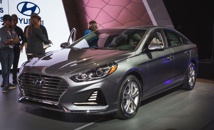2018 Hyundai Sonata: Zestier Styling, Updated Chassis