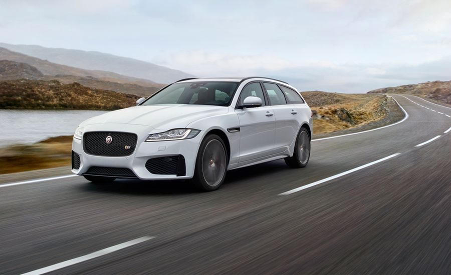 2018 Jaguar XF Sportbrake: A Slinky Wagon Headed for the States