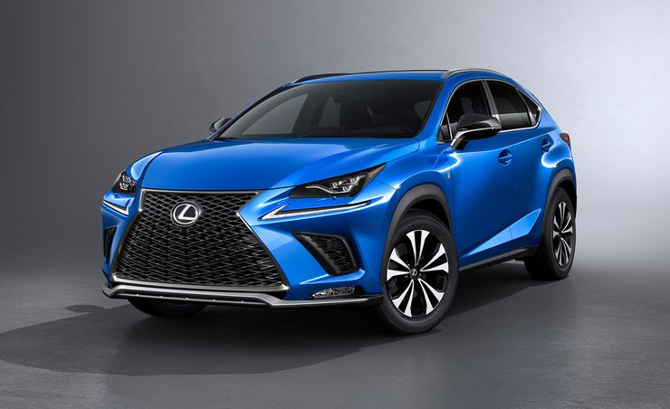 2018 Lexus NX Refreshed: Sharper Outside, Smoother Inside