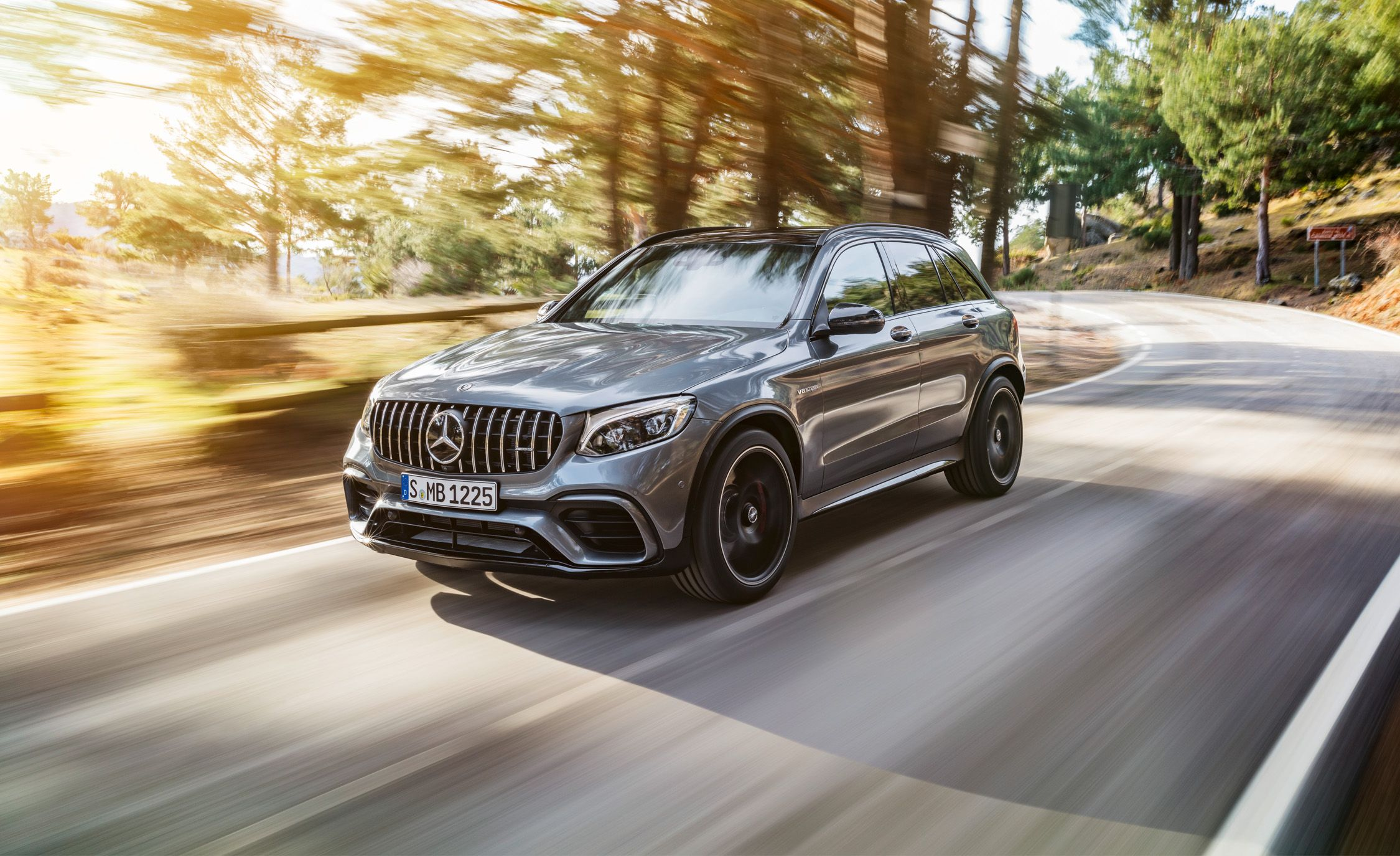 2018 Mercedes-AMG GLC63 4MATIC: A Small CUV with 469 HP of V-8 Fury