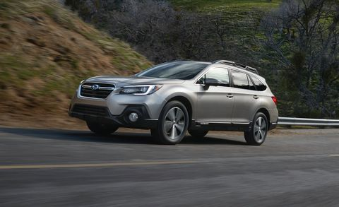 Following The Rollout Of 2018 Wrx And Legacy Subaru Continues Its Lineup Revamp With Outback New Edition Has Minor Exterior Interior