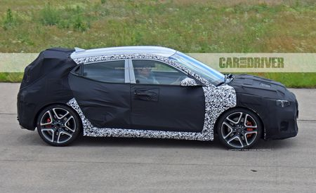 N Sight: Hotter 2019 Hyundai Veloster N Spied