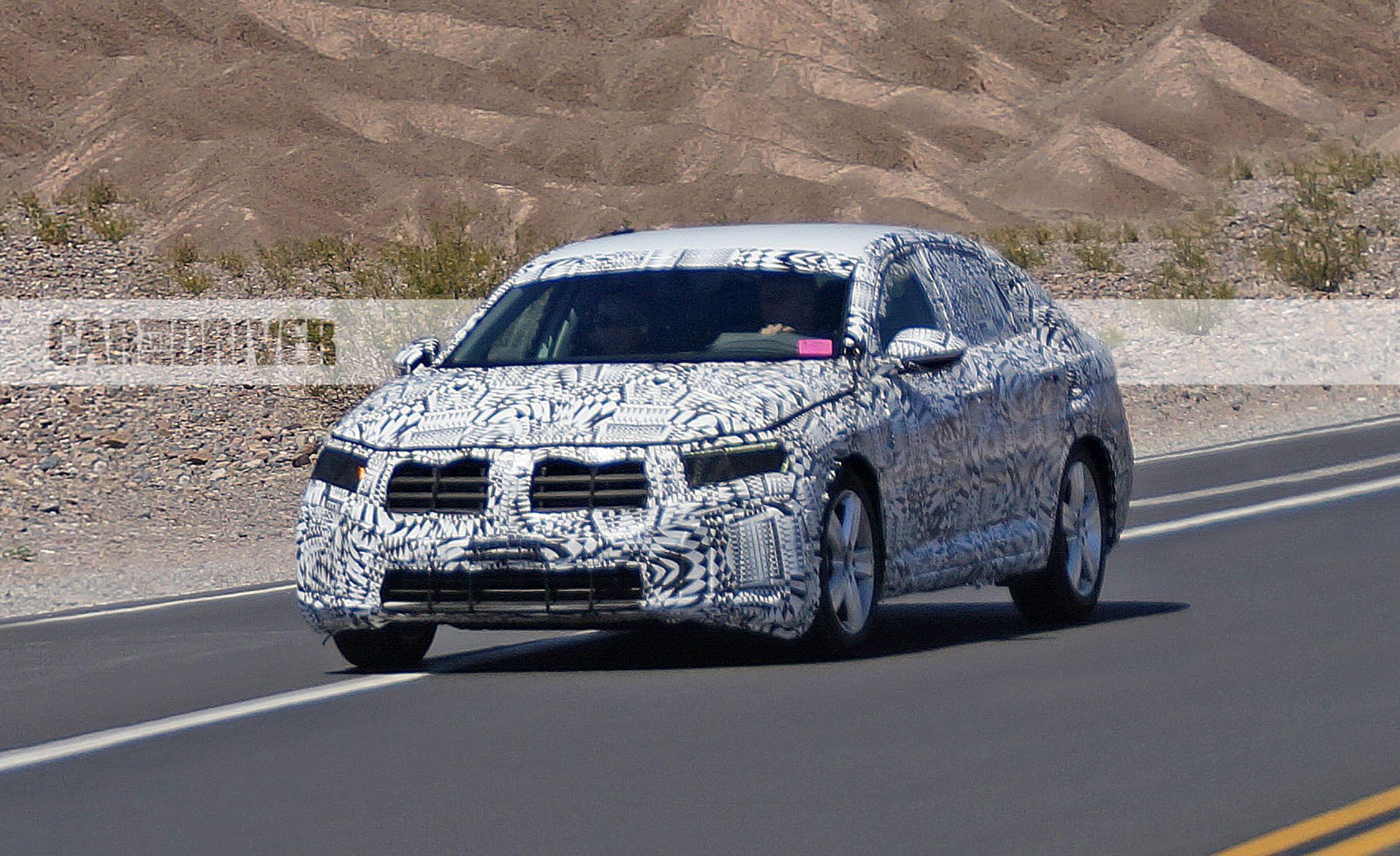 2019 Volkswagen Jetta Spy Photos News Car And Driver