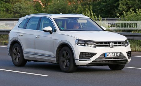 2019 Volkswagen Touareg Is Spotted Nearly Undisguised