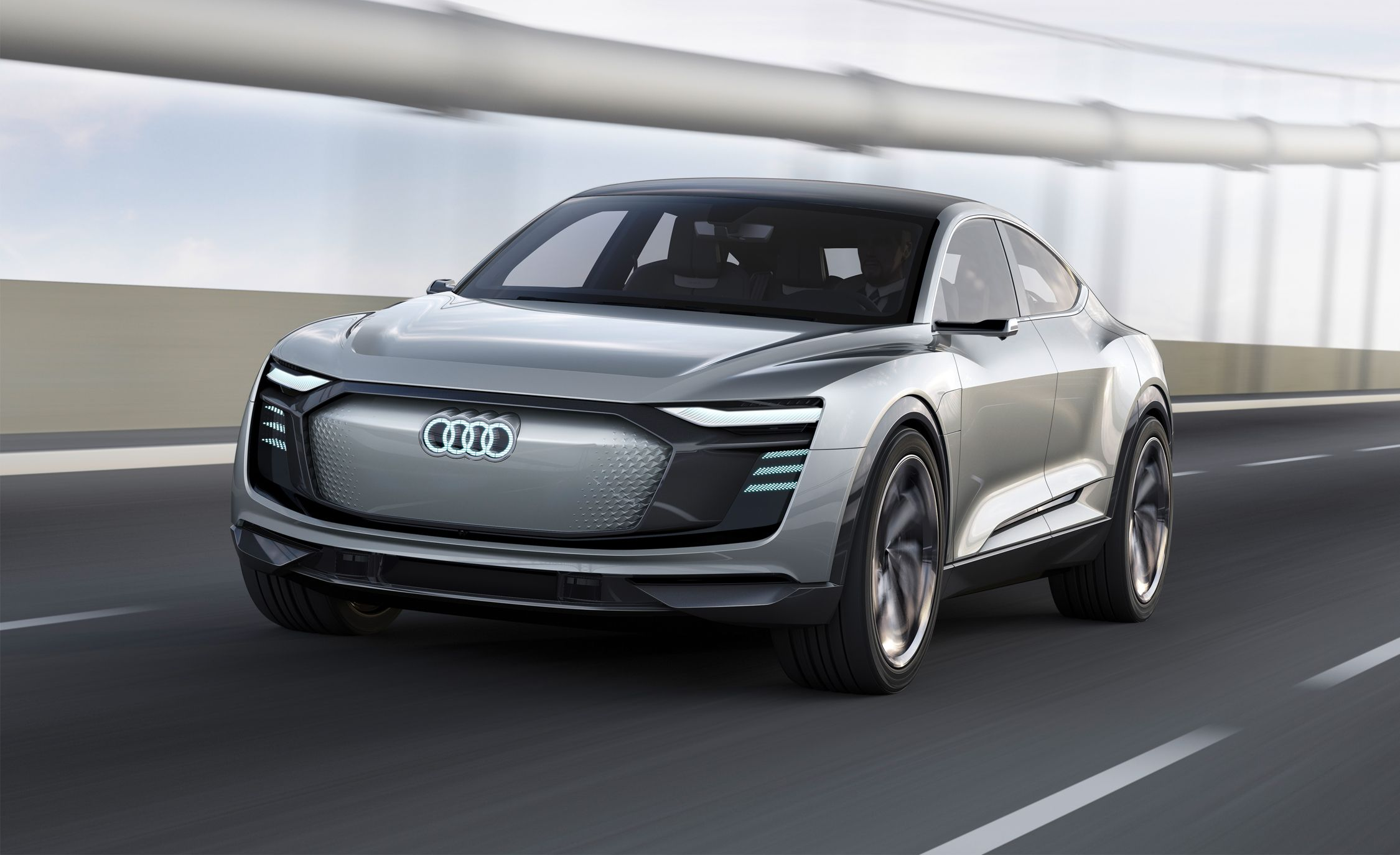 Audi E Tron Sportback Concept Photos And Info News Car