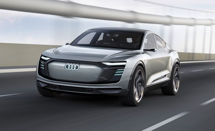 Audi e-tron Sportback Concept: The SUV Coupe Goes Electric