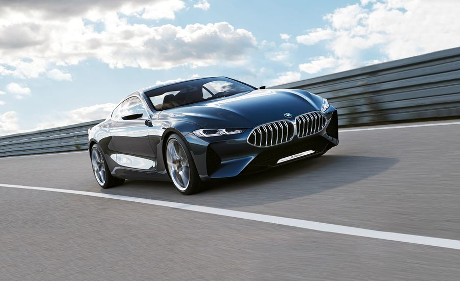 BMW Concept Series Photos And Info News Car And Driver - 2015 bmw 8 series price