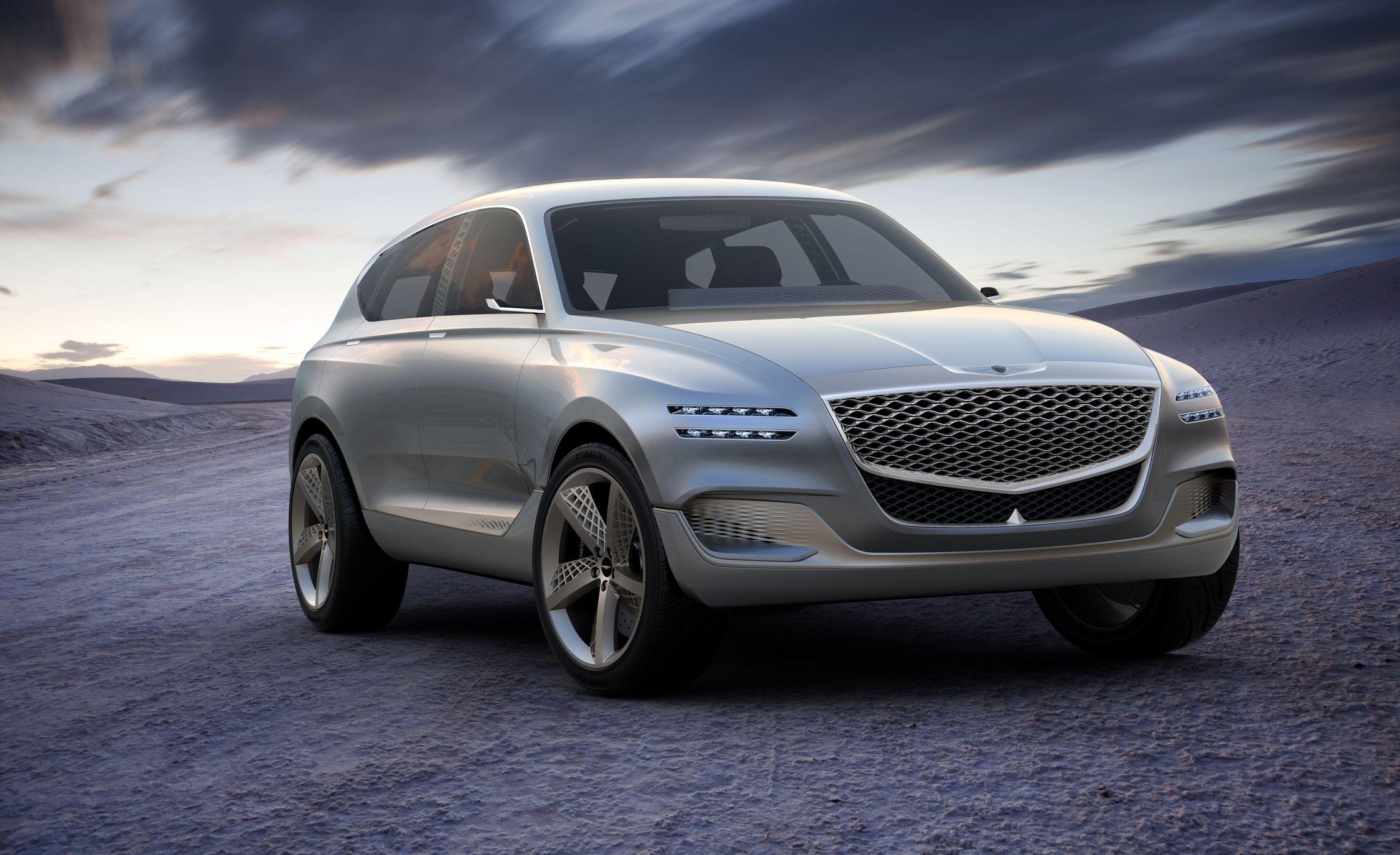 Genesis Gv80 Concept Photos And Info News Car And Driver