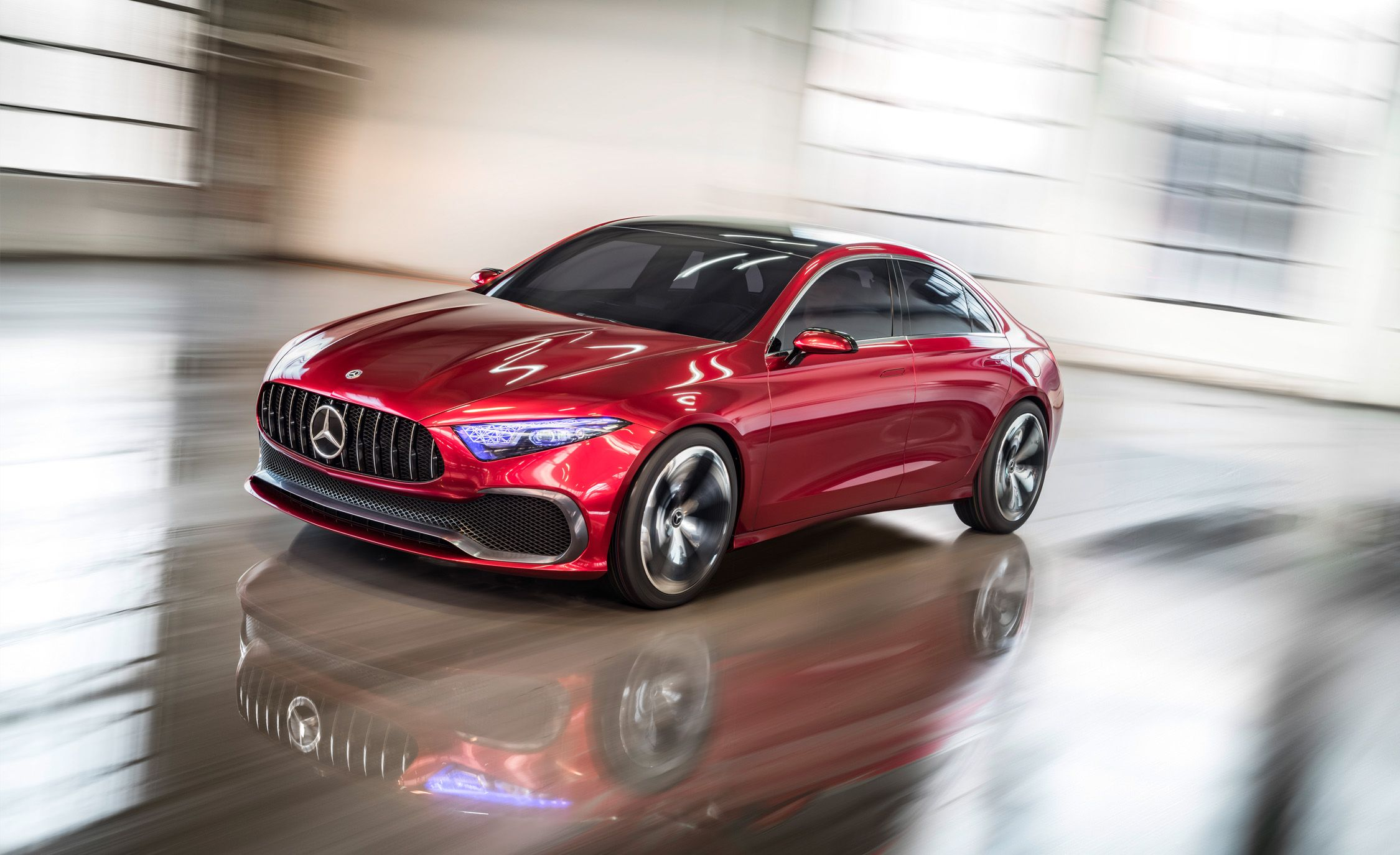 Mercedes-Benz Concept A Sedan: Very Likely To Become a Real Thing