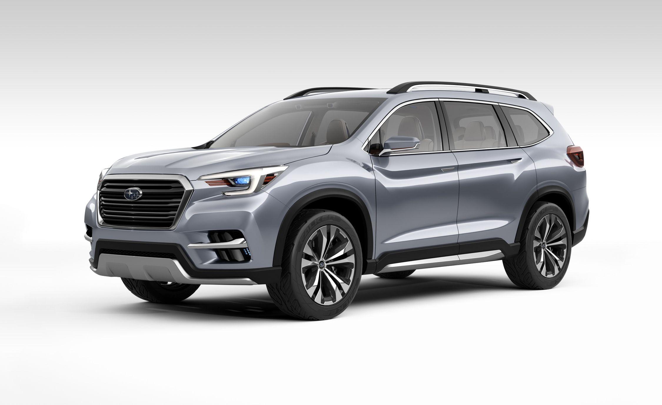 Subaru Ascent Concept: Previewing Subie's Three-Row SUV