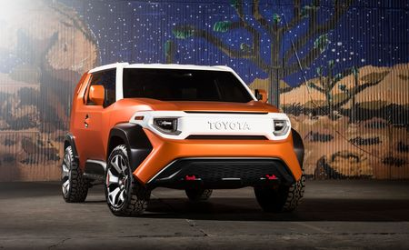 Toyota FT-4X Concept: Ruggedly Charming