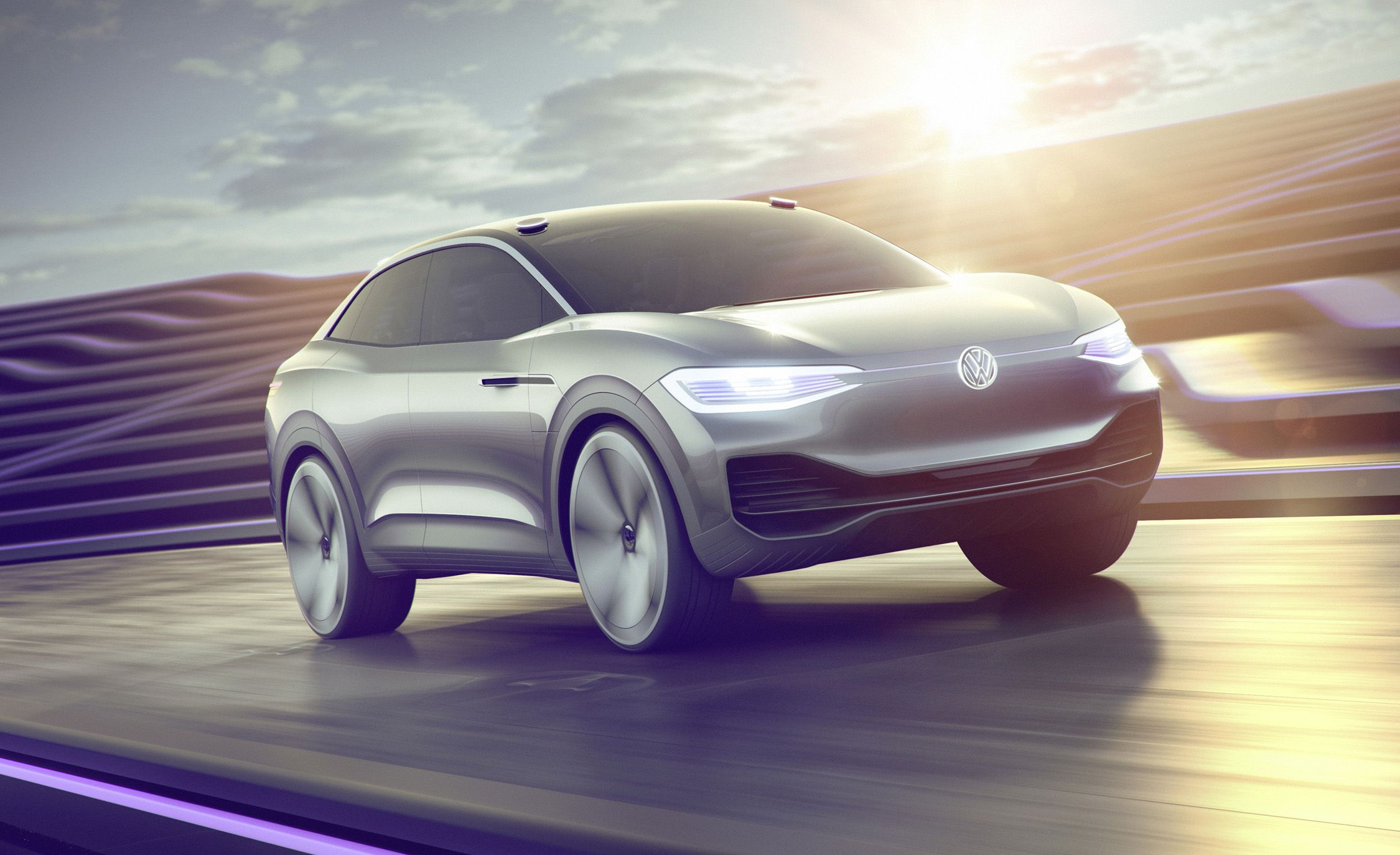 Volkswagen I.D. Crozz Concept: The EV Crossover That Can Wink