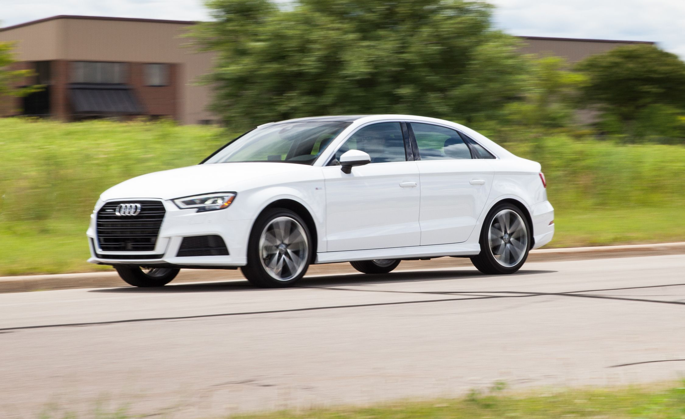 Audi A Fuel Economy And Driving Range Review Car And Driver - 2018 audi a3 msrp