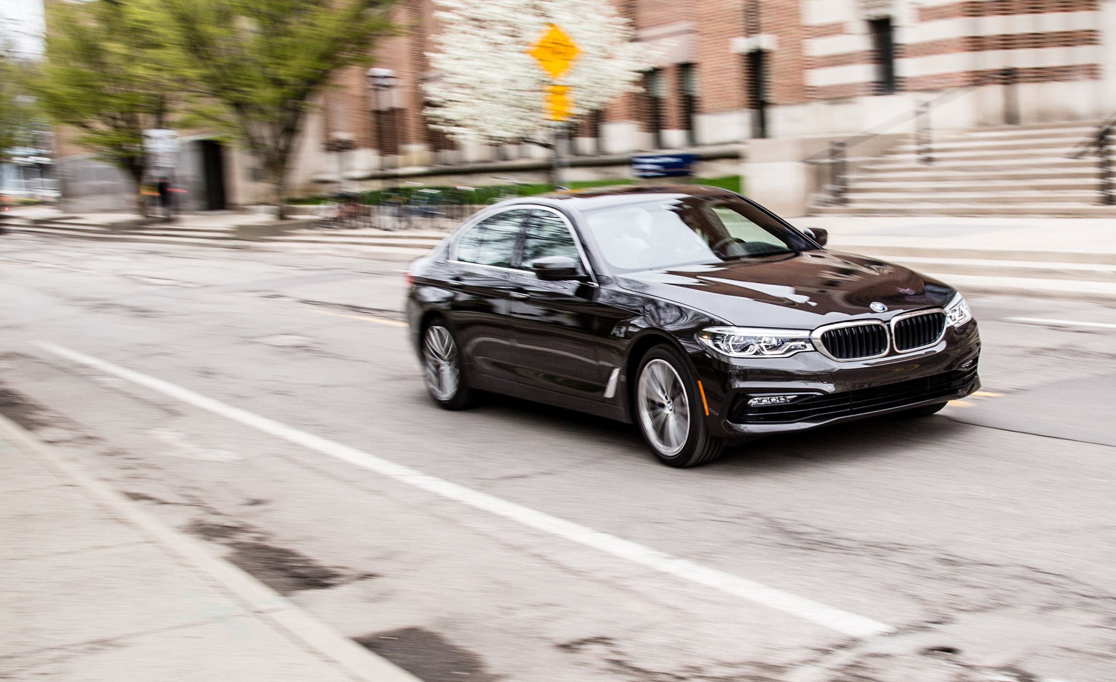2017 bmw 530i xdrive test review car and driver sciox Choice Image