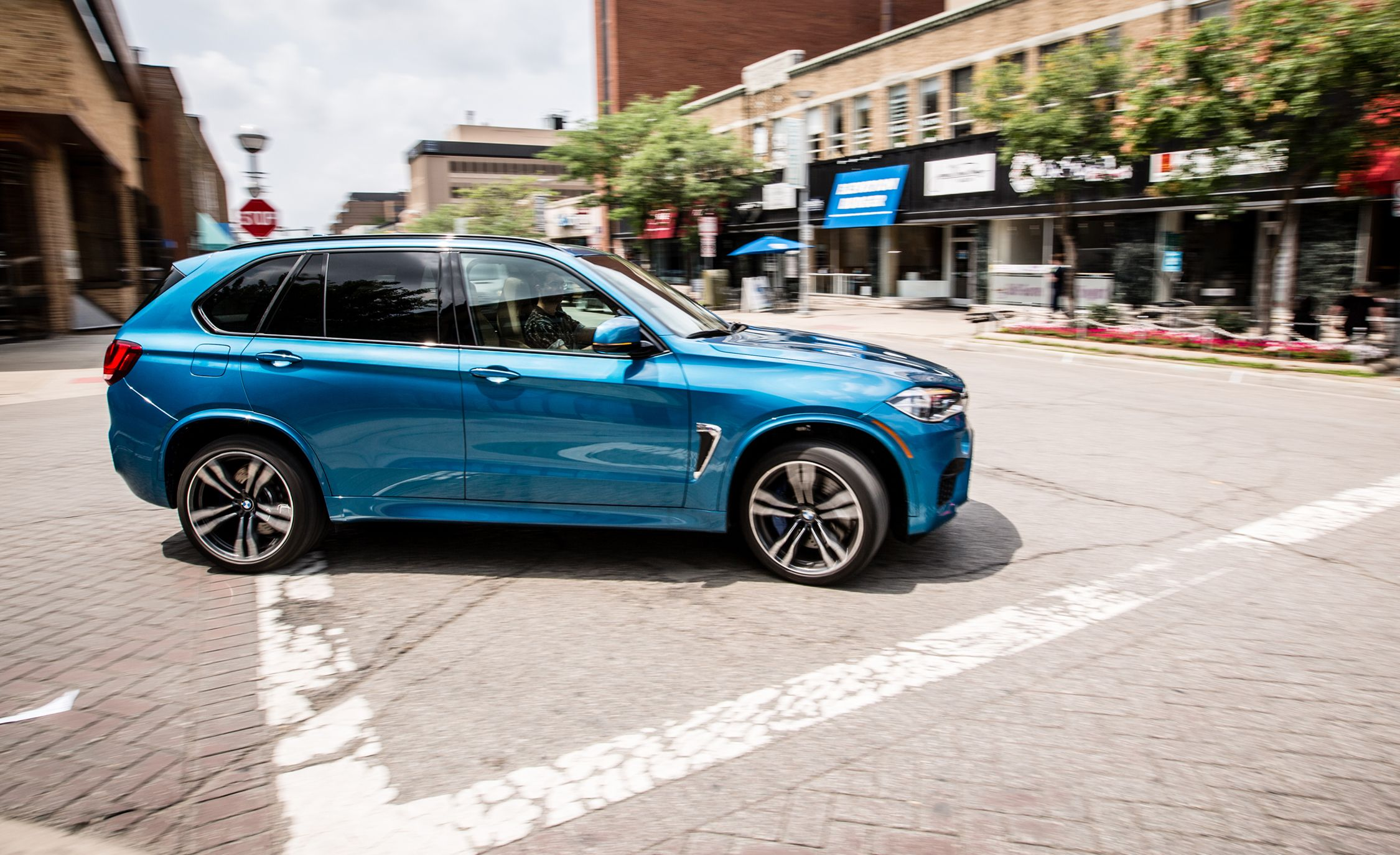 2015 BMW X5 M Instrumented Test Review