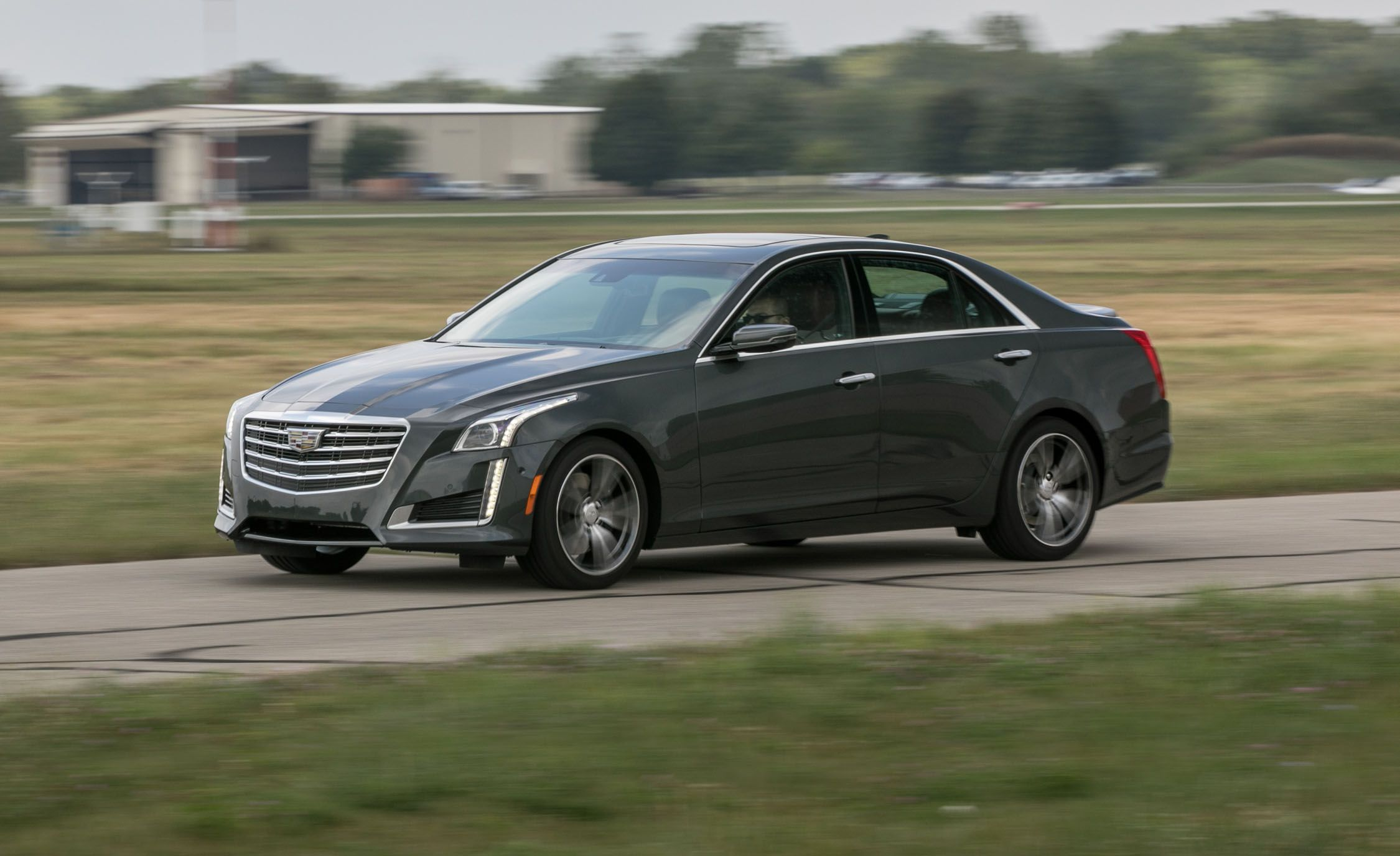 2017 Cadillac CTS 3.6L RWD Test | Review | Car and Driver