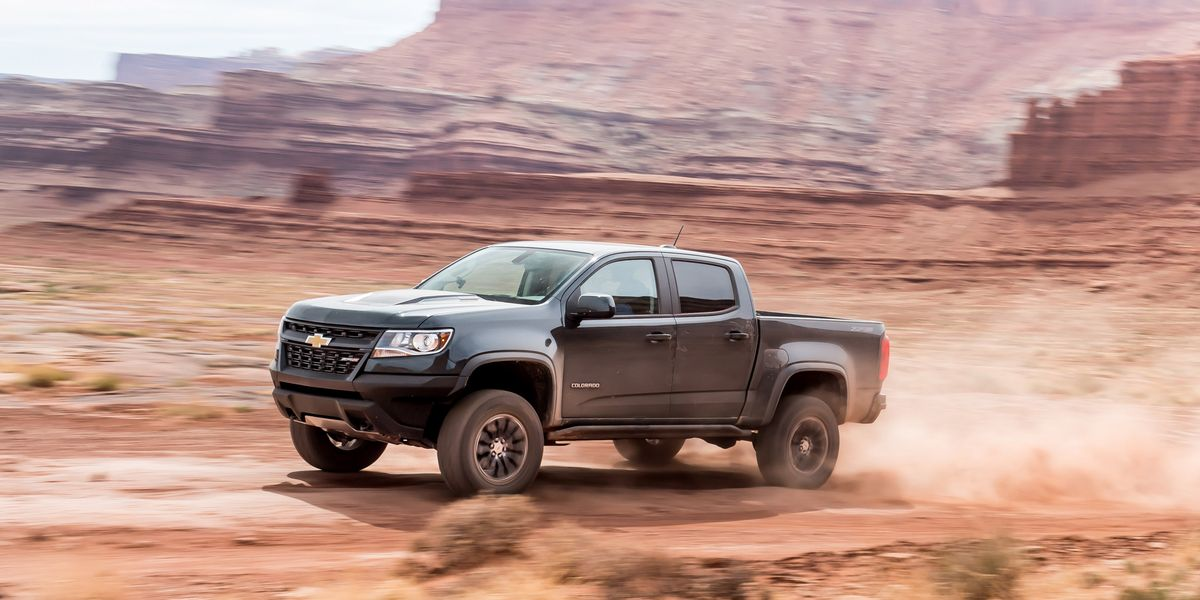 2017 Chevrolet Colorado Zr2 Diesel Test Review Car And Driver