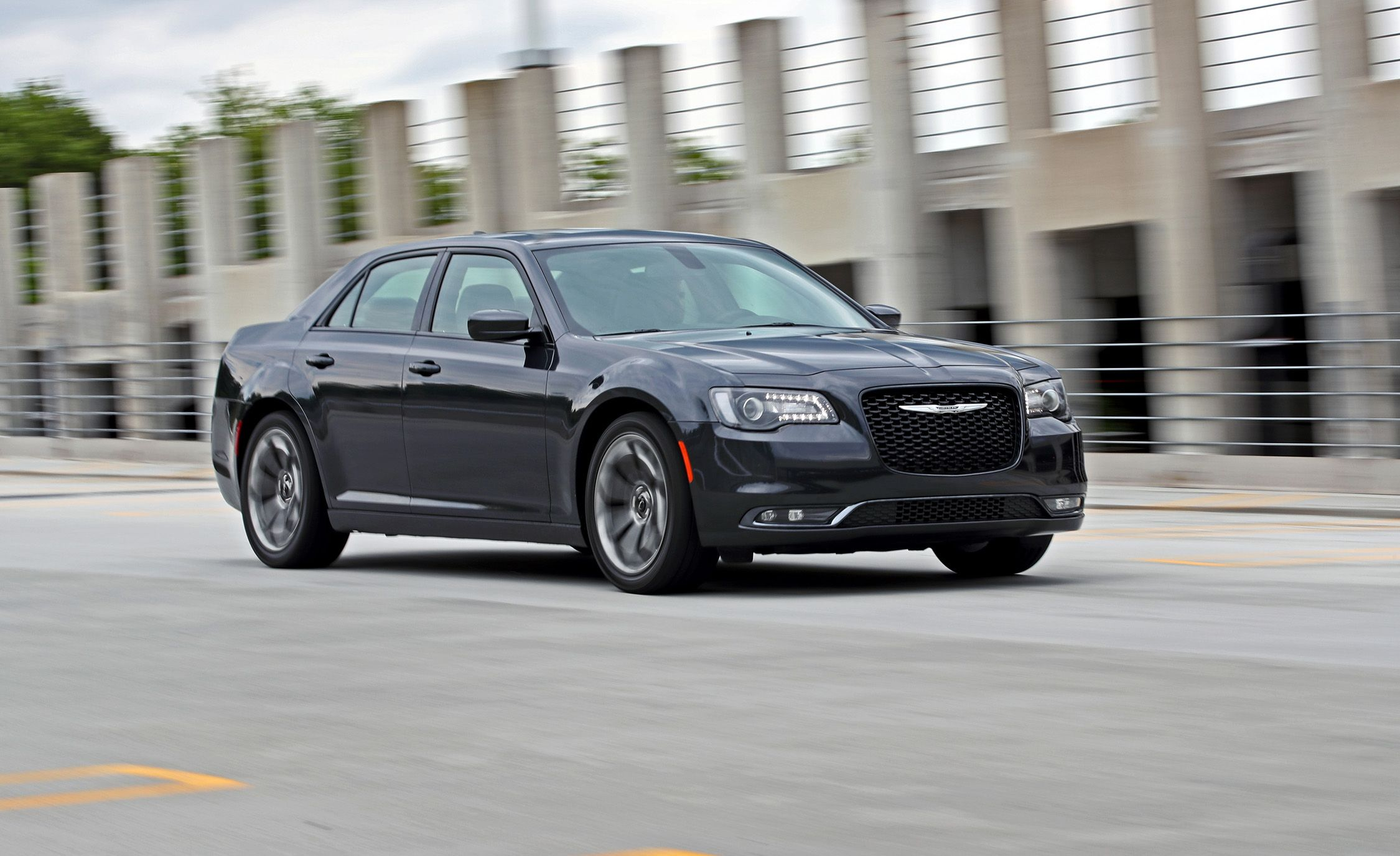 Chrysler 300 S >> 2017 Chrysler 300s V 6 Rwd Test Review Car And Driver