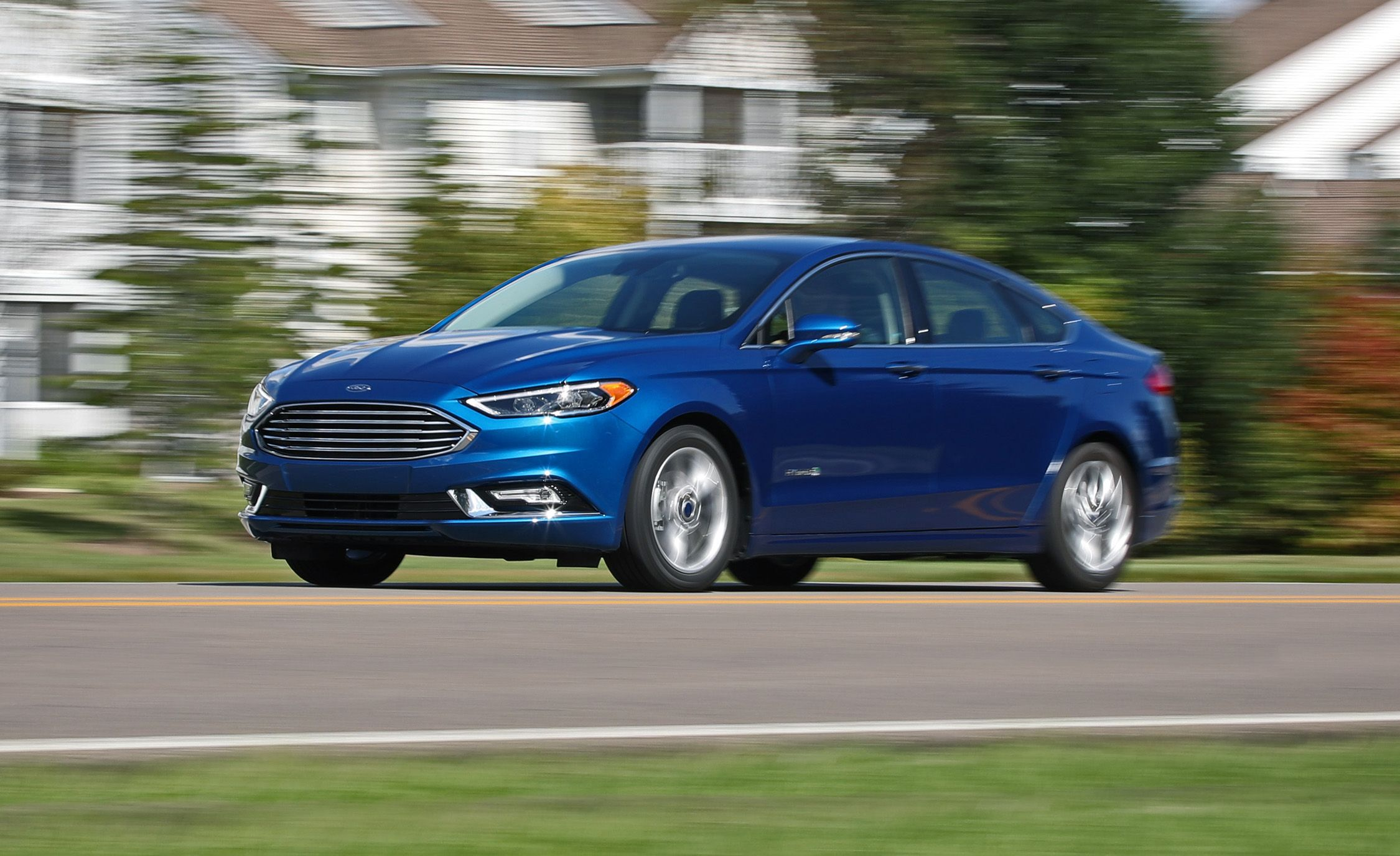 2017 ford fusion hybrid first drive review car and driver