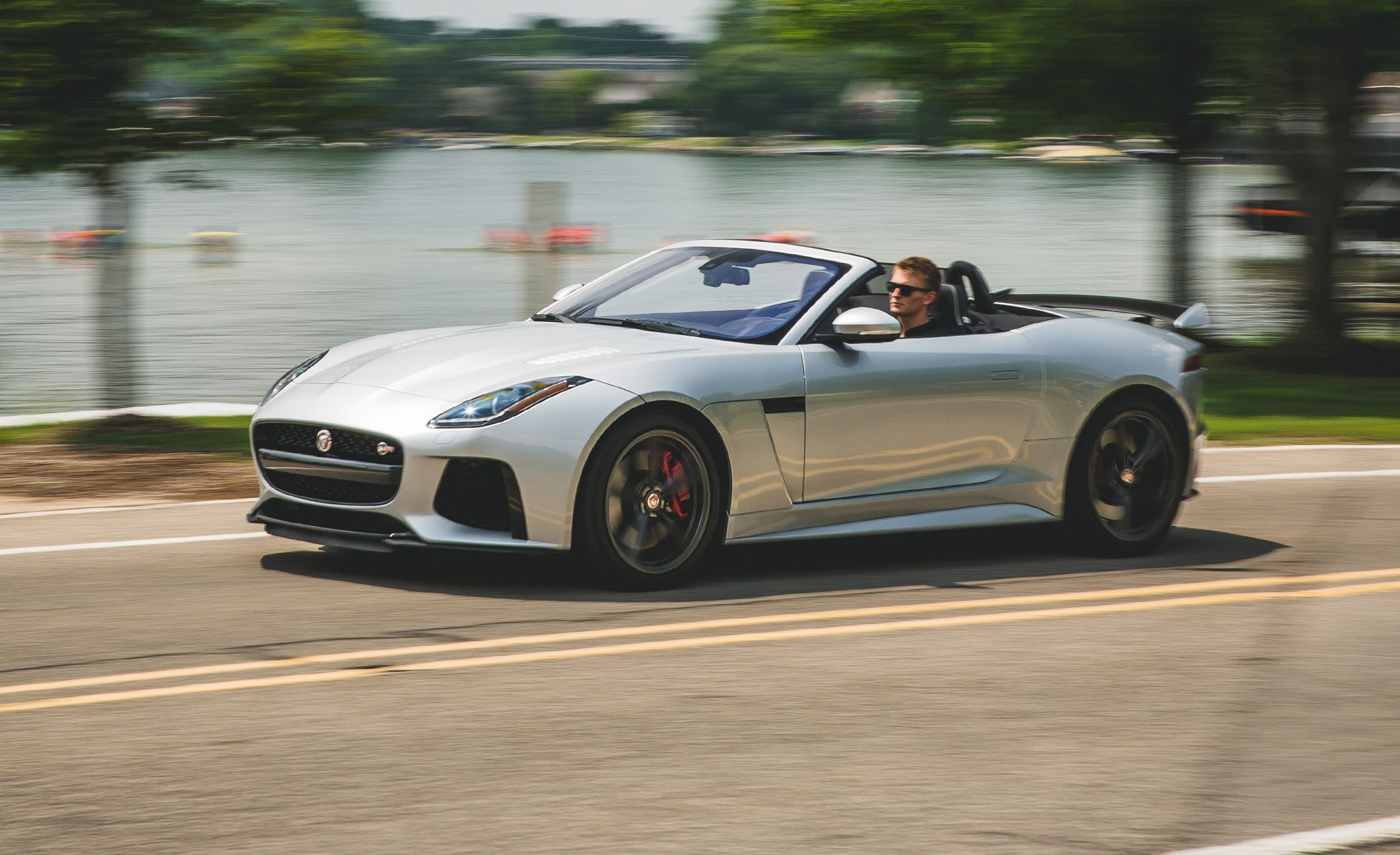 2017 jaguar f-type svr convertible test | review | car and driver