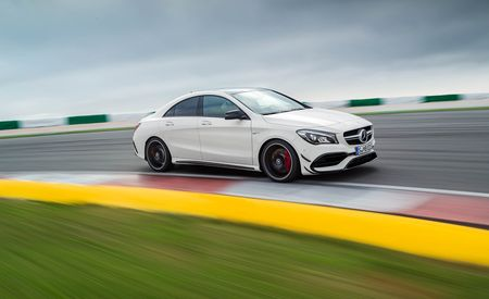 2017 Mercedes-AMG CLA45 4Matic