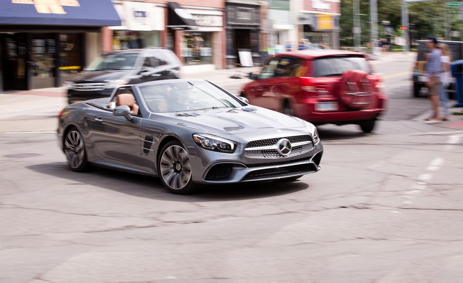 2017 mercedes benz sl450 test review car and driver for 2017 mercedes benz sl450