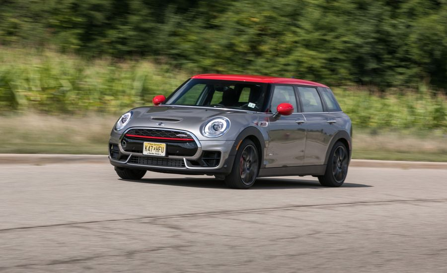 2017 Mini Clubman John Cooper Works All4 Manual Test Review Car