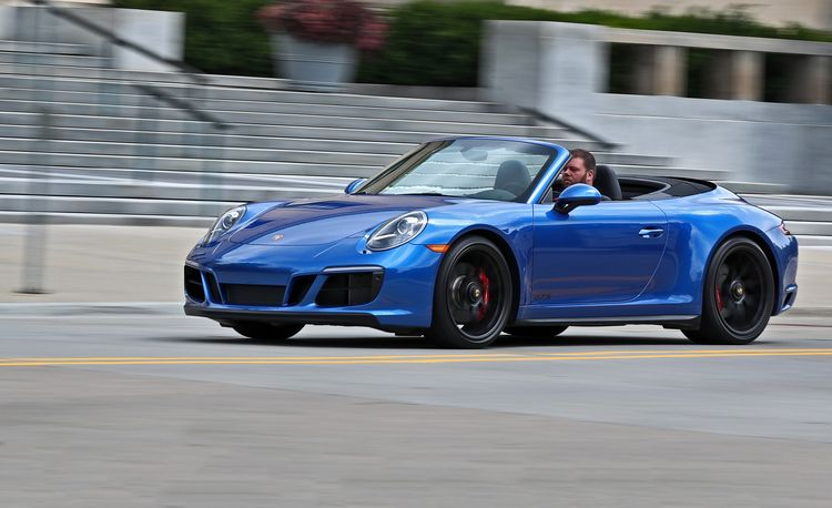 2017 Porsche 911 Carrera GTS Cabriolet Manual