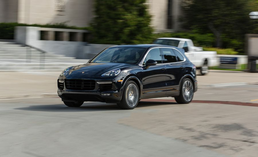 2017 porsche cayenne turbo s test review car and driver. Black Bedroom Furniture Sets. Home Design Ideas