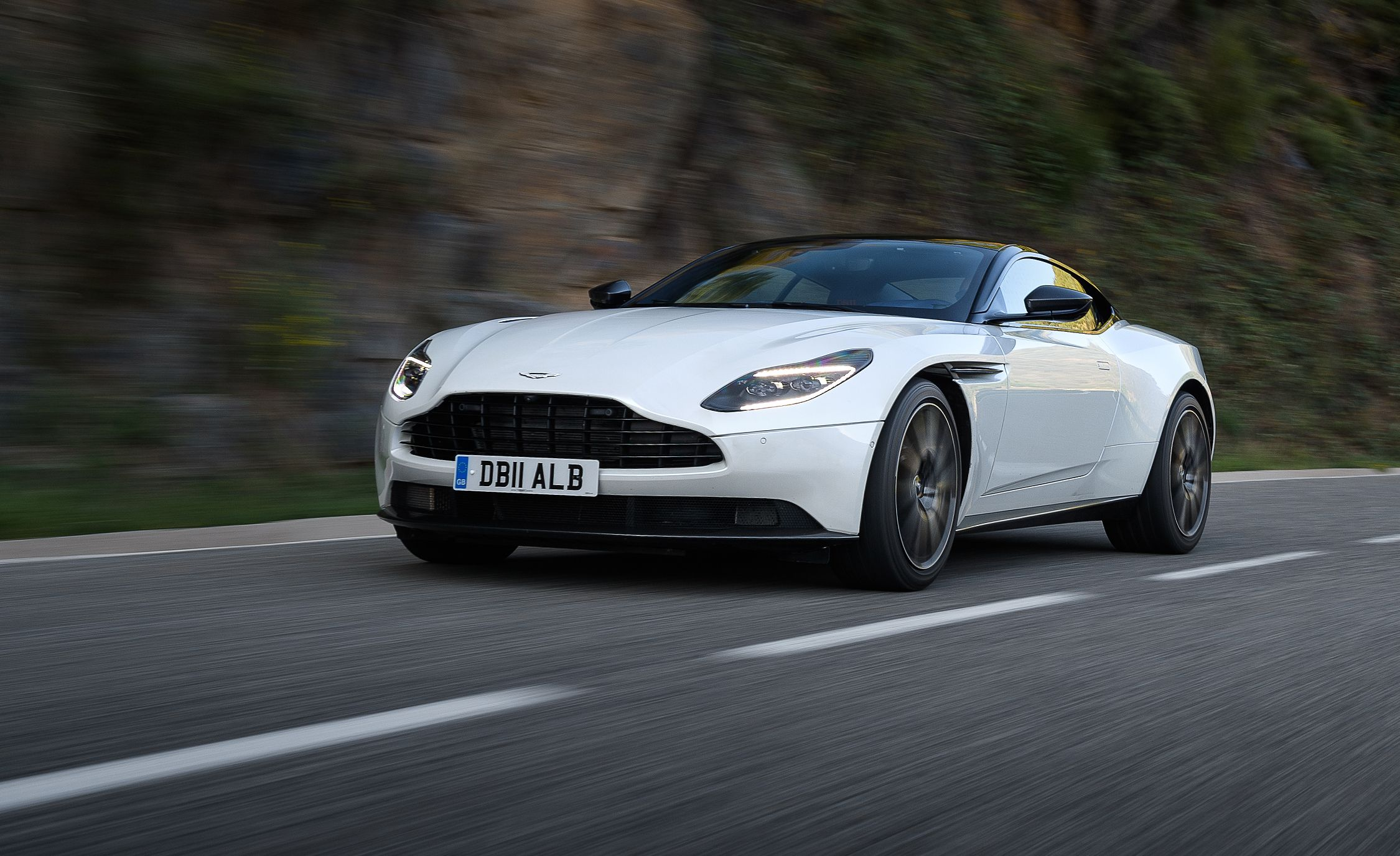 2019 Aston Martin Db11 Volante First Drive Review Car And Driver