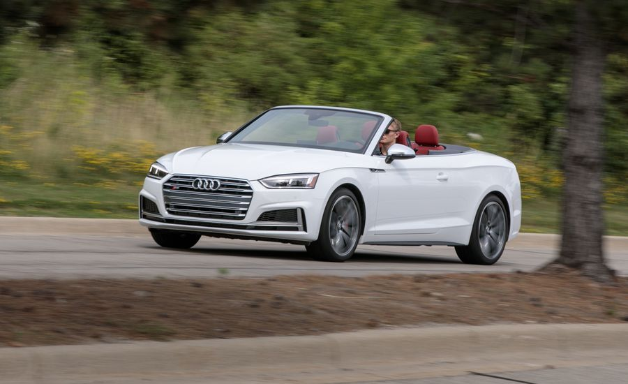Audi S Cabriolet Test Review Car And Driver - Audi s5 2018
